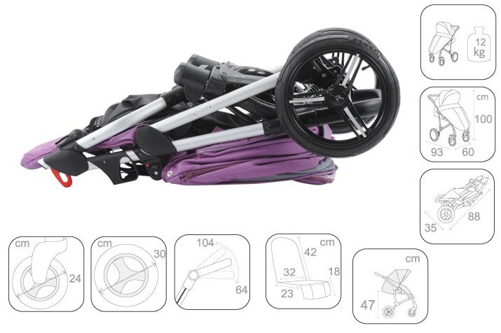 детская коляска бебетто филиппо