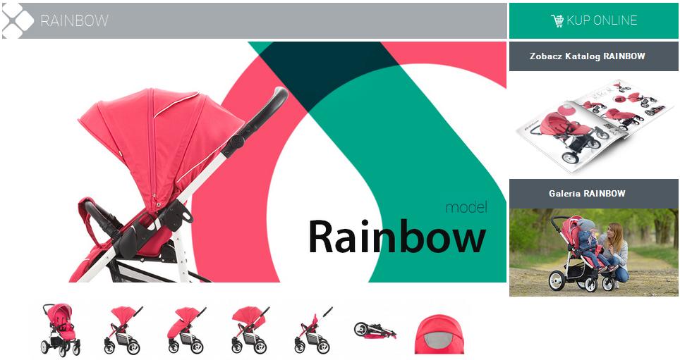 фото коляски Bebetto Rainbow