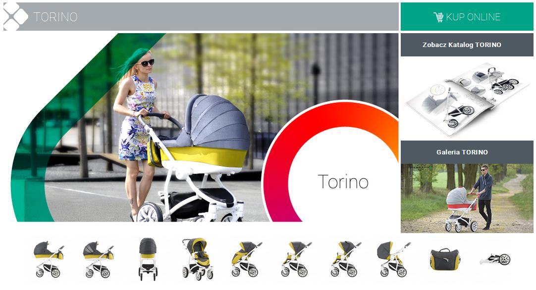 фото коляски Bebetto Torino New