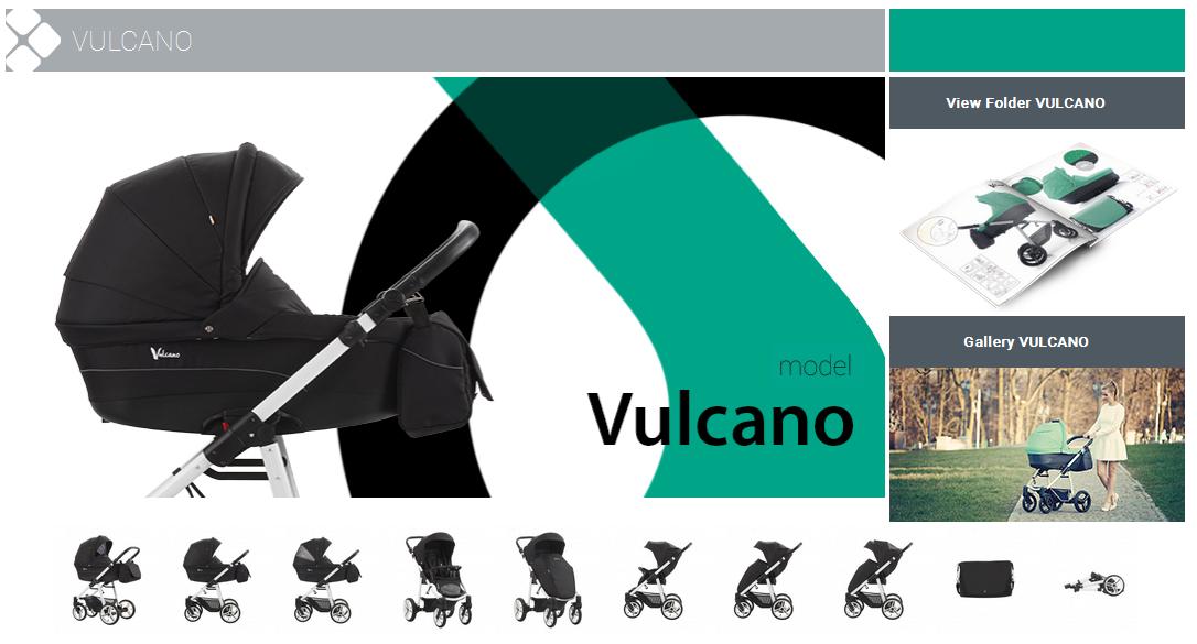 фото коляски Bebetto Vulcano